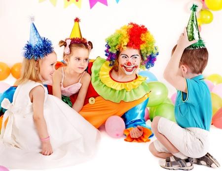 Child happy birthday party . Stock Photo - 13308281