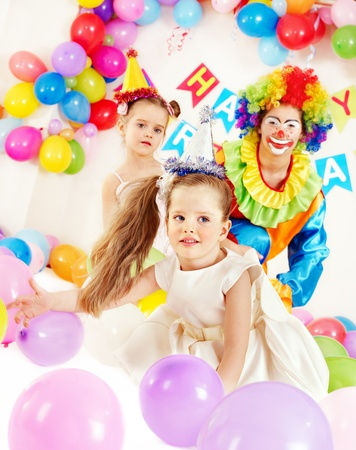 Child happy birthday party . Stock Photo - 13309659