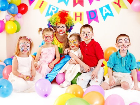 Child happy birthday party . Stock Photo - 13308295