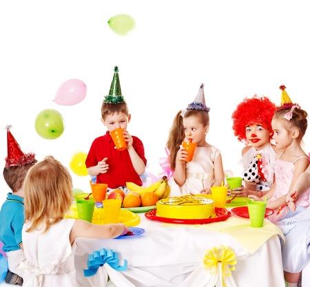 Child happy birthday party . Stock Photo - 13563203