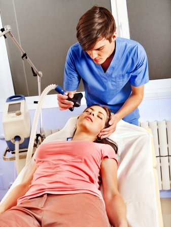anesthesia: Anesthesia for surgery in hospital.
