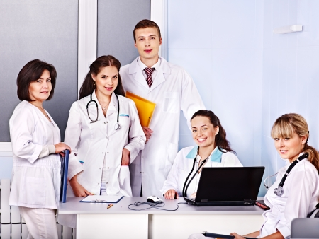 Medical team of doctor in hospital  photo