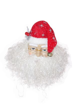 Santa Claus on a white background photo
