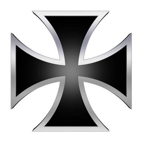 teutonic: Silver choppers cross