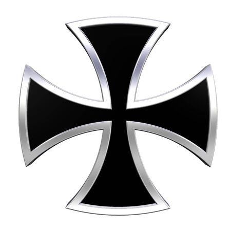 germanic: Silver choppers cross