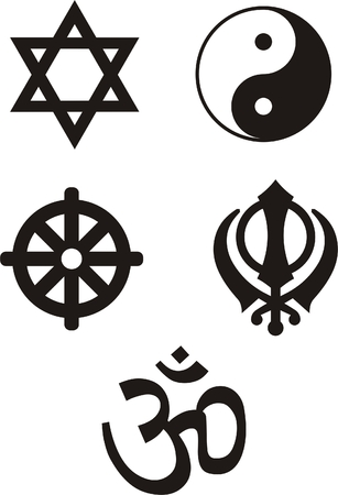 Religious Symbols - vector ilustration Stock Vector - 5700450