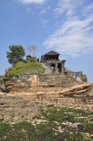 Tanah Lot temple, Bali, Indonesia photo