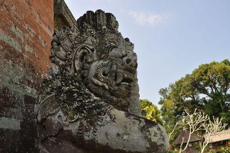 Statue at Hinduism Taman ayun temple, Bali, Indonesia, Bali, Indonesia Stock Photo - 5739310