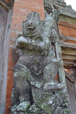 Statue at Hinduism Taman ayun temple, Bali, Indonesia, Bali, Indonesia Stock Photo - 5739307