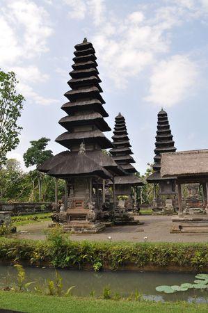 A Hinduism Taman ayun temple, Bali, Indonesia photo