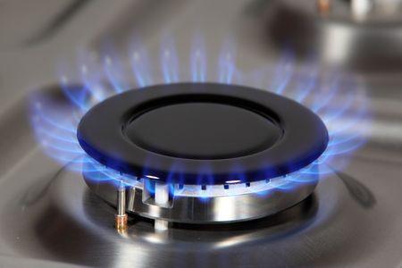 Gas burner photo