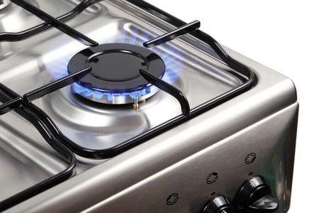 gas stove: Gas burner