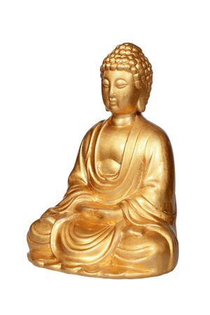 chinese philosophy: Golden Buddha statue