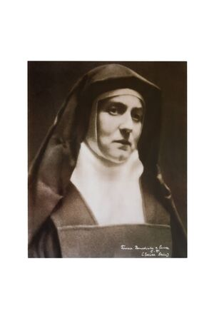 stein: Portrait of Edith Stein, philospher and Carmelite Nun, circa 1933.  Editorial
