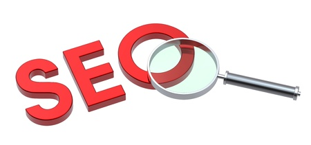 SEO - Search Concept. Computer generated 3D photo rendering. Stock Photo - 9700507