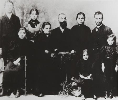 edith: Family of Edith Stein (1891-1942), philospher and Carmelite Nun, circa 1912.