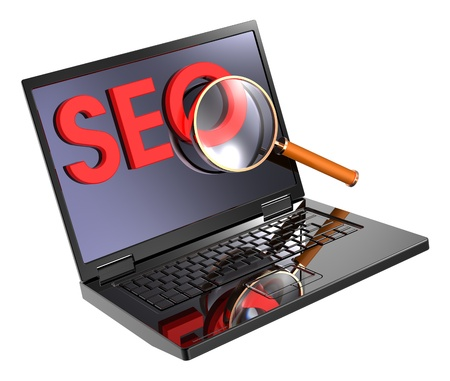 SEO - Search Concept. Computer generated 3D photo rendering. Stock Photo - 9743006