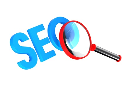 SEO - Search Concept. Computer generated 3D photo rendering. Stock Photo - 9743028