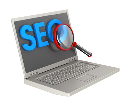 SEO - Search Concept. Computer generated 3D photo rendering. Stock Photo - 9743032