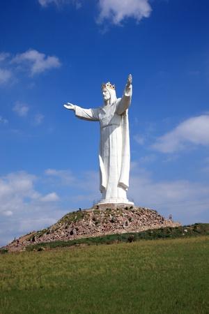 Jesus Christ Monument, Swiebodzin, Poland photo