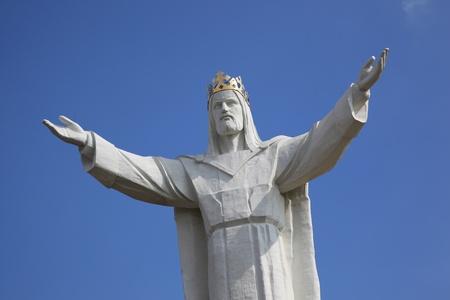 Jesus Christ Monument, Swiebodzin, Poland Stock Photo - 10477489