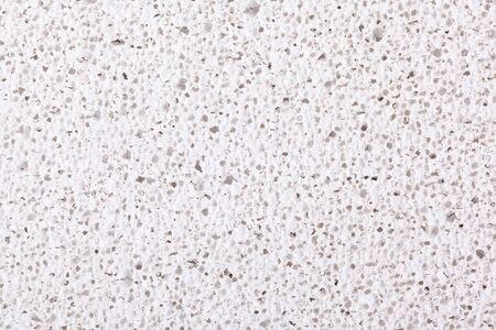 eruptive: Surface of white pumice - closeup. Stock Photo