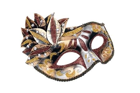 Carnival Venetian mask isolated on white background Stock Photo - 11904040