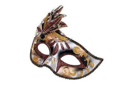 Carnival Venetian mask isolated on white background Stock Photo - 11904019