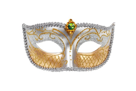 Carnival Venetian mask isolated on white background Stock Photo - 11904027