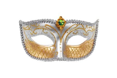 Carnival Venetian mask isolated on white background Stock Photo - 11904027