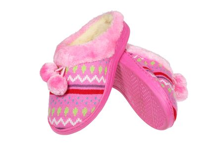 Pink slippers   photo