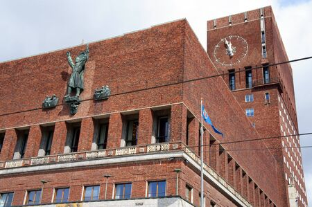 City Hall in Oslo, Norway            photo