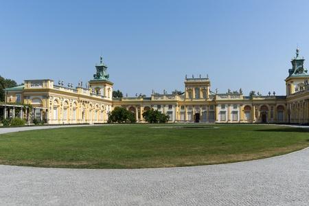 sobieski: Royal Palace Wilanow in Warsaw, Poland