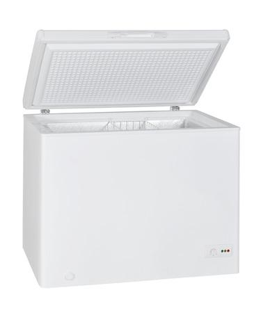 Inicio congelador aislado con trazado de recorte Foto de archivo - 22929453