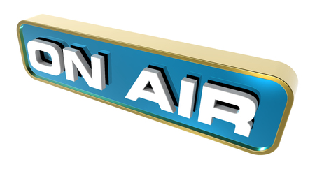 On Air  sign  Computer generated 3D photo rendering  photo