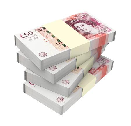 English argent isolé sur fond blanc ordinateur généré photo 3D rendu Banque d'images