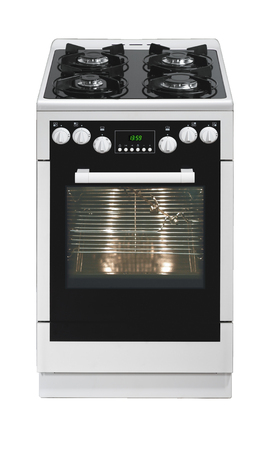 Free standing cooker isolated on white background Stock Photo - 26881526