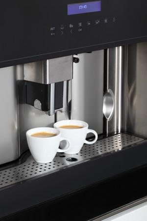 Espresso machine - close up  photo