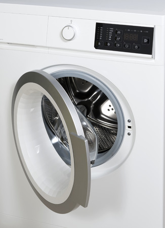 Datail of washing machine   photo