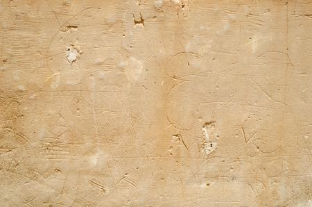 風化の古い砂岩壁の背景