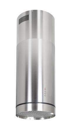 inox: Modern INOX cooker hood isolated on white