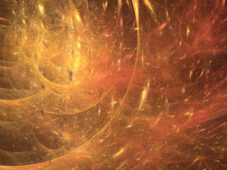 astrophysics: Abstract shapes made of fractal textures. Stock Photo