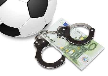 corrupcion: Escándalo de corrupción de la FIFA en la concesión de derechos para albergar la Copa Mundial de la FIFA. FIFA Seis activistas fueron arrestados. Foto de archivo