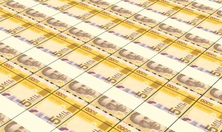 costa rican: Costa Rican colon bills stacks background.