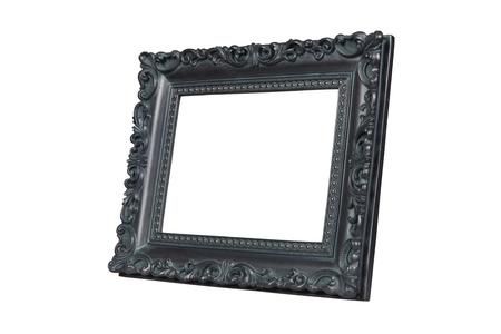 verdigris: Vintage picture frame  Stock Photo
