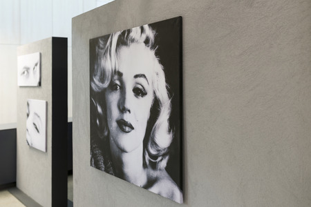 An exhibition of photographs Milton H. Greens Good Morning Marilyn on 19 July 2015 in Wroclaw, Poland. The photos were bought at auction by DESA to Wroclaw Enterprise Hall of the People.