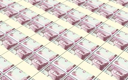 bills: Scotland pound bills stacks background.