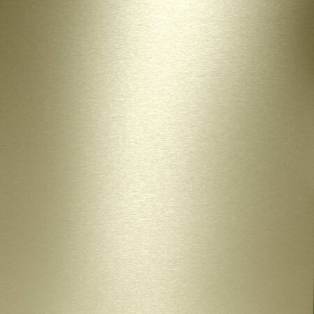 catchlight: Brushed gold plate textured background. Stock Photo