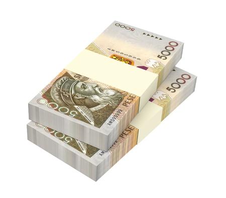 signo de pesos: Dinero albanés aisladas sobre fondo blanco. Ilustración 3D