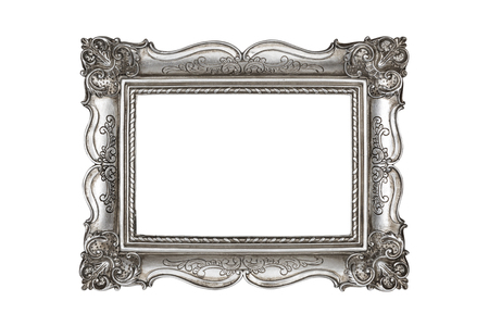 silver frame: Silver picture frame